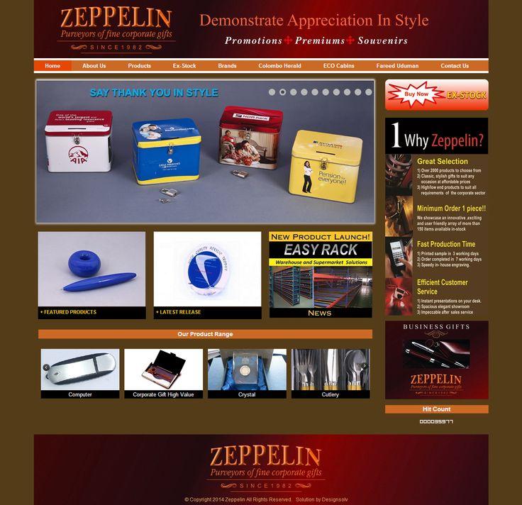 Zeppelin Advertising Services Website