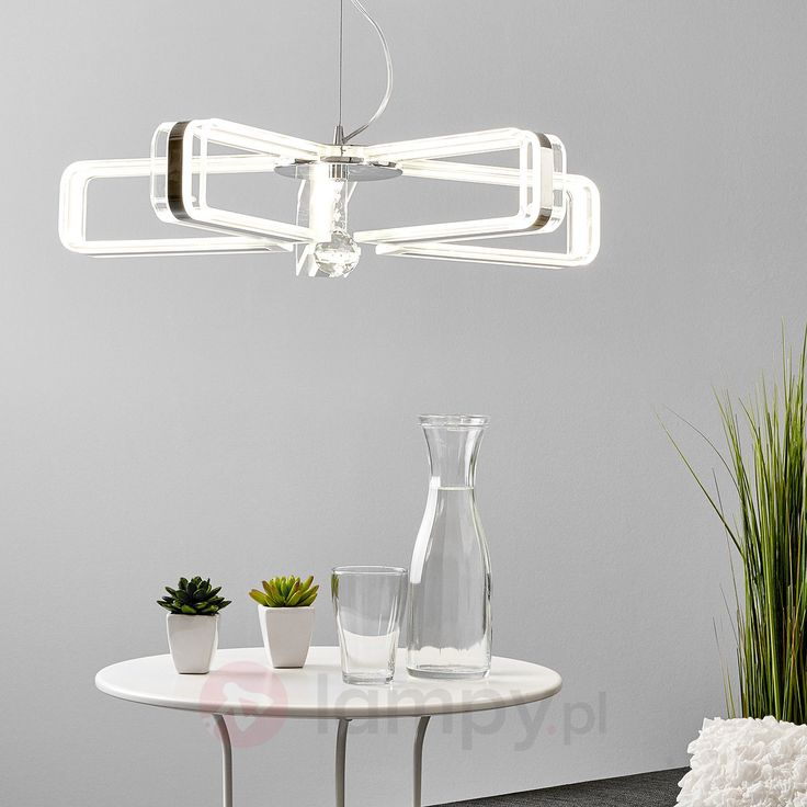 5-punktowa lampa wisząca LED Laura 9627029