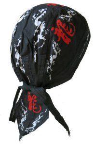 Bandana kamikaze samourai japon japonais serre tete homme femme biker moto paintball airsoft chasse peche