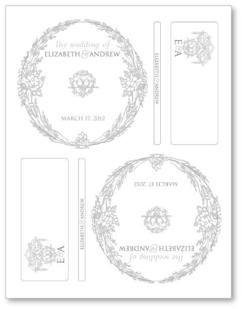 53 Amazing Free Printable Wedding Favor Tags | visit www.freetemplateideas.com