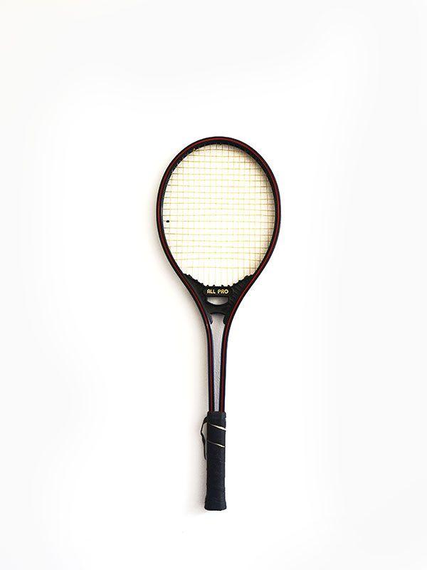 raqueta tenis negra