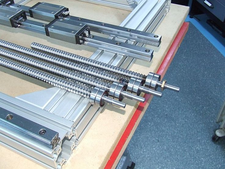 Build Thread Cnc Router Aluminum Frame Pics Only