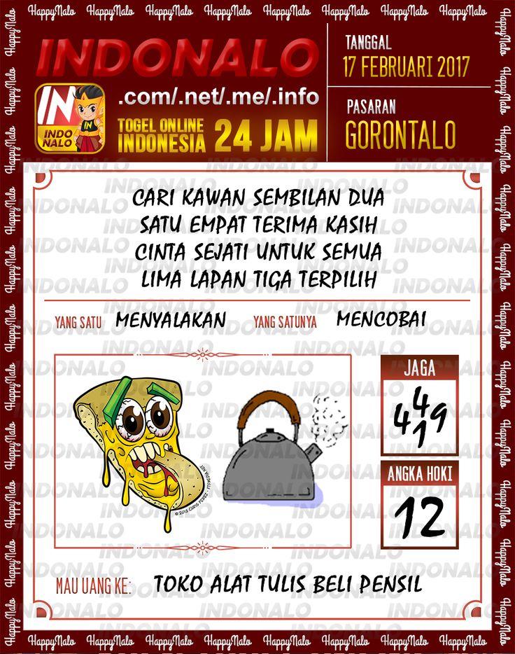 Angka Taysen 6D Togel Wap Online Live Draw 4D Indonalo Gorontalo 17 Februari 2017