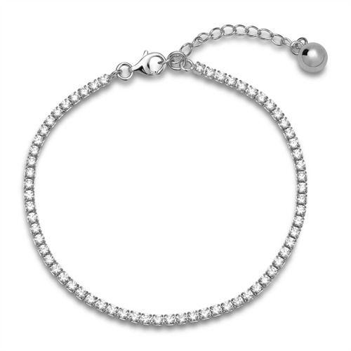 Tennisarmband 925er Silber poliert Zirkonia SB0227 http://www.thejewellershop.com/ #silber #armband #zirkonia