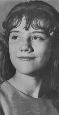 "Sylvia Likens, a 16 year old girl who was murdered. She was neglected and tortured by many people. Her story is told through the movie ""An American Crime."""