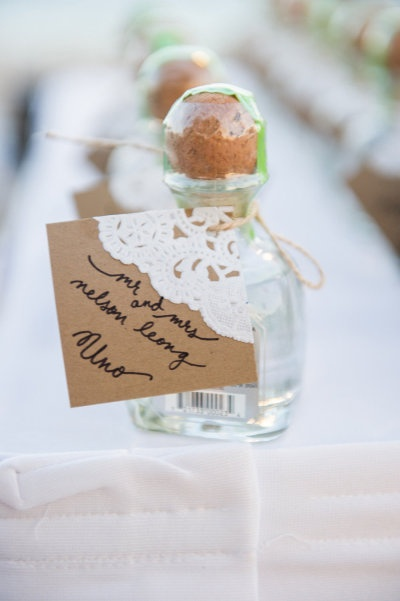 Love this idea! Patron gift favors  Read more - http://www.stylemepretty.com/2013/03/19/mexico-wedding-at-dreams-riviera-cancun-resort-spa-from-style-art-life-photography/