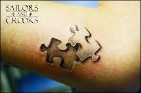 Tattoo Puzzleteil - Google-Suche