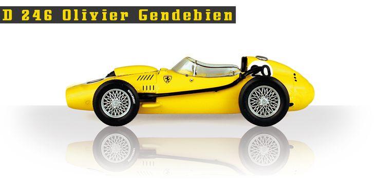 D 246 di Olivier Gendebien #ferrari #F1 #edicola #collezione