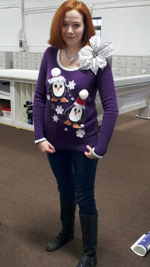 Tacky+Sweater+Ideas+Homemade | ... in Blog |Comments (0)| Email this | Tags : homemade ugly sweater ideas