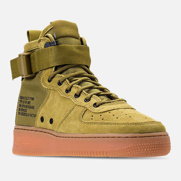 Nike Boys' Grade School SF Air Force 1 Mid Casual Shoes | Looks