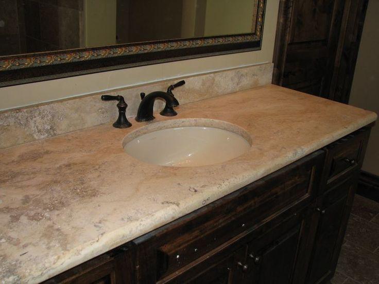 Best 25 granite countertop edges ideas on pinterest - Faux marble bathroom countertops ...