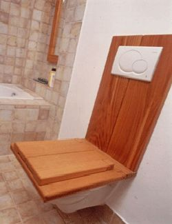 wooden toilet cover, modern bathroom toilets in vintage style