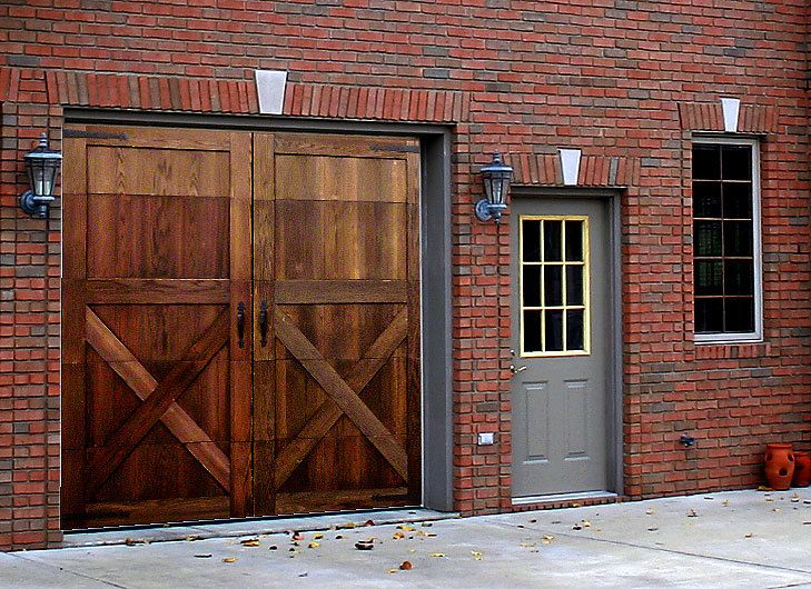 Garage Skins Garageskins 1 Car Mahogany System 7 High
