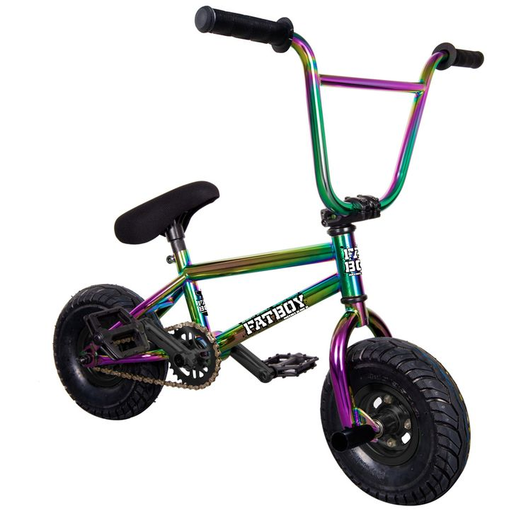 Fatboy Mini BMX Pro Neo Chrome BMX Bike