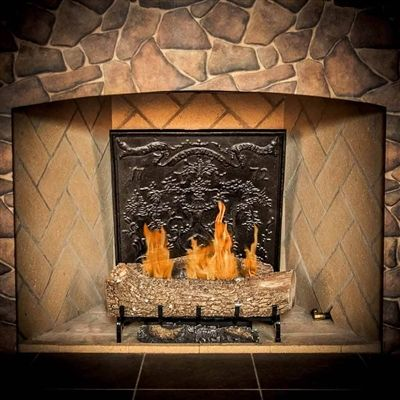 13 best images about fireplace firebacks on pinterest - Firebacks for fireplaces ...