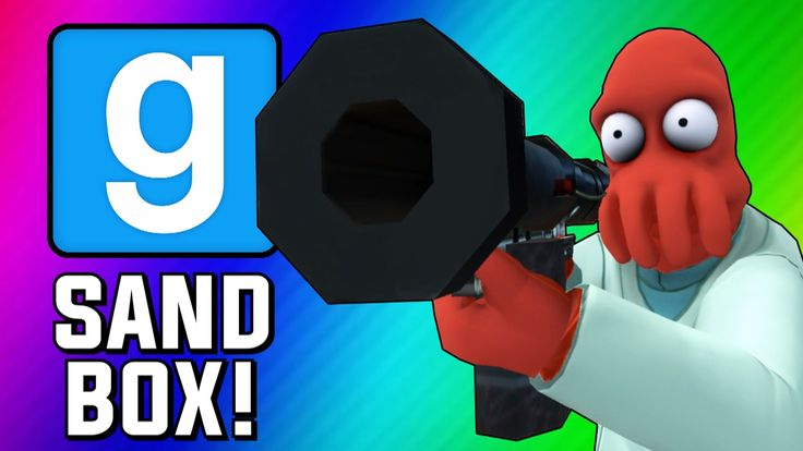 Gmod Sandbox Funny Moments - Fish Tank, Wii Sports, Trippy Maps, Crazy B...