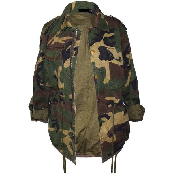 Oversize Camo Jacket Alyanna by Alexandra ($75) ❤ liked on Polyvore featuring outerwear, jackets, camouflage jacket, brown jacket, camouflage print jacket, oversized jacket and camo print jacket