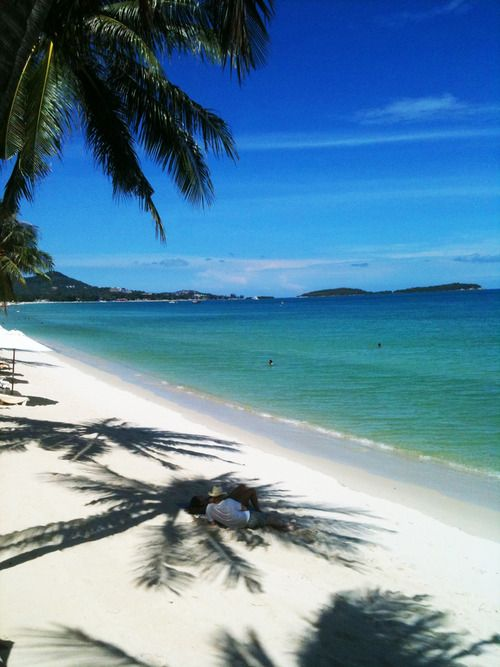 Beautiful Chaweng Beach | Koh Samui … it's not all crowded