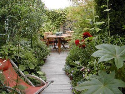 246 best images about terraza on pinterest decks green for Jardin suspendu