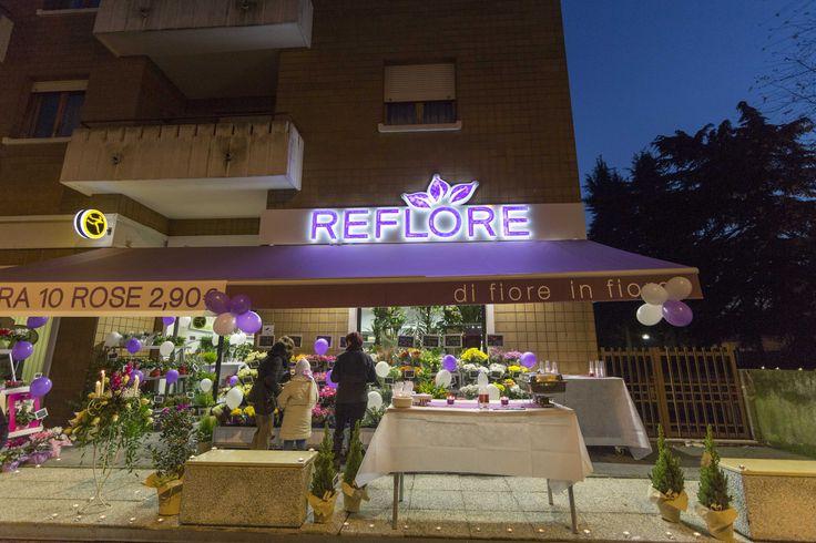 Reflore Rivoli by night
