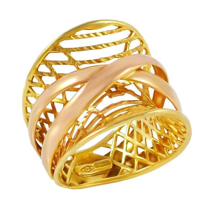 Δ595Τ -Χρυσό δαχτυλίδι