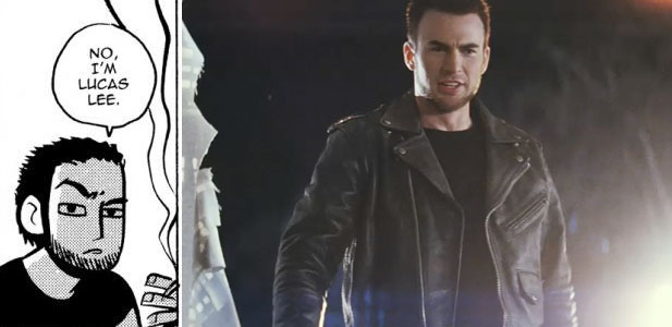 Present - Novel Lucas Lee compared to Movie Lucas Lee. Evil Ex No.2 (Burton, A. 2010)