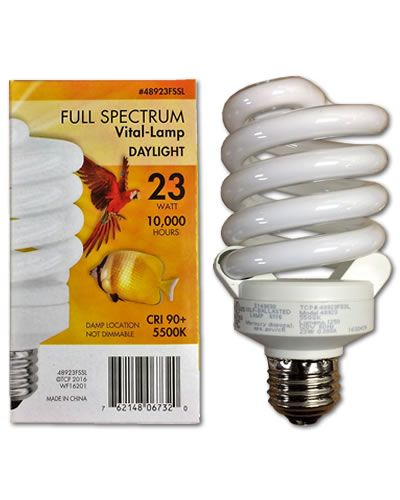 23 Watt Vital-Lamp Full Spectrum Light