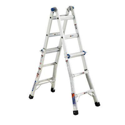 Werner 13-ft Type IA Aluminum Multi-Position Ladder