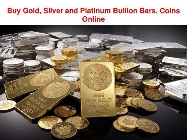Gold Silver And Platinum Bullion Bars
