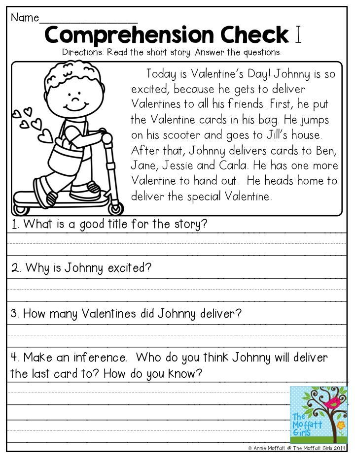 93 Best Images About 1st Grade Reading Prehension