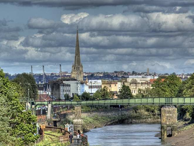 View of Bristol CityCentre
