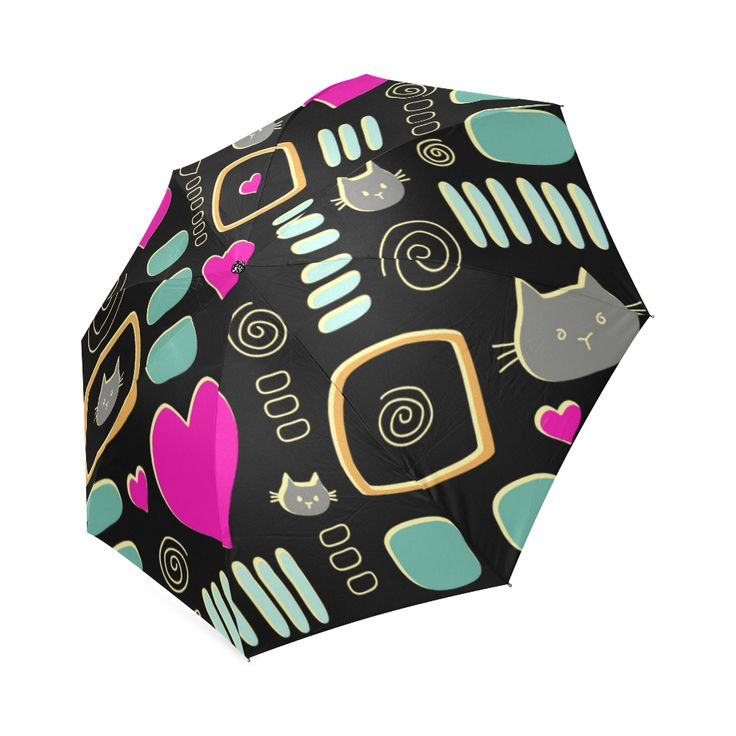 Love Cats Foldable Umbrella