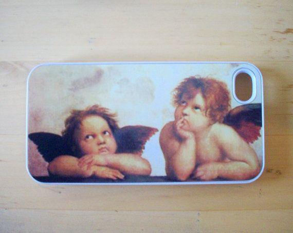 Raphael  Angels iPhone 4/4S case by GelertDesign on Etsy, £7.00