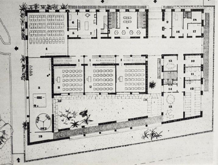 Asilo nido, Figini e Pollini, 1939