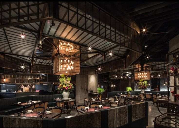Hong kong restaurant that combines colonial style