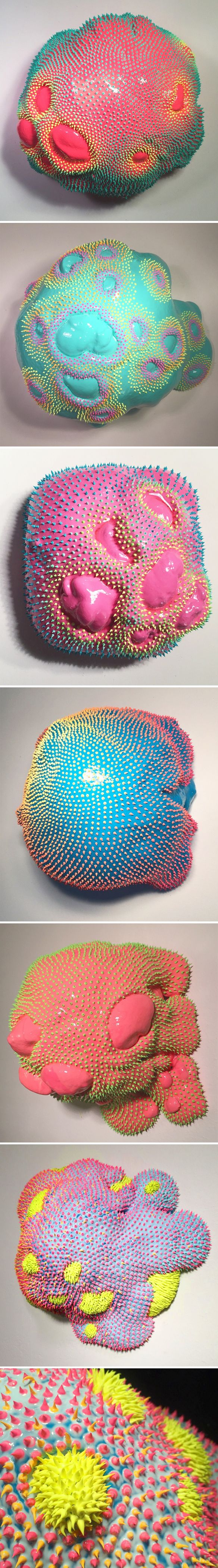 dan lam | The Jealous Curator | Bloglovin' << I kinda like these. The more I look at them, the more I want to touch them.