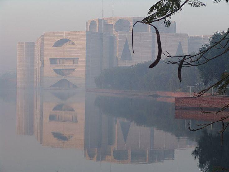 299. Луис Кан. Парламентский комплекс в Бангладеш. 1961-82 - Synthart