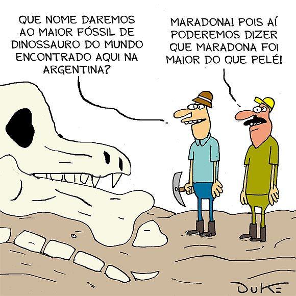 Descobertos na Argentina fósseis de dinossauro gigante