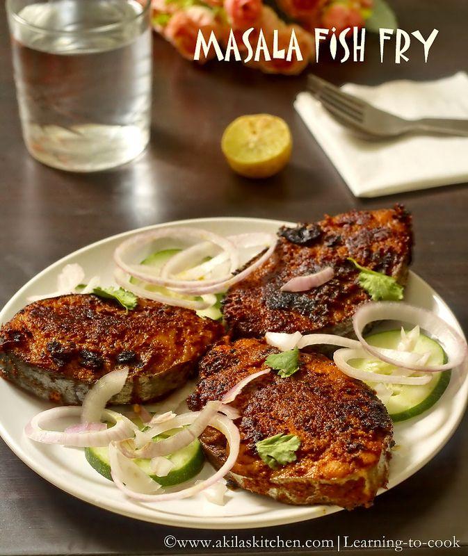 Restaurant style masala fish fry