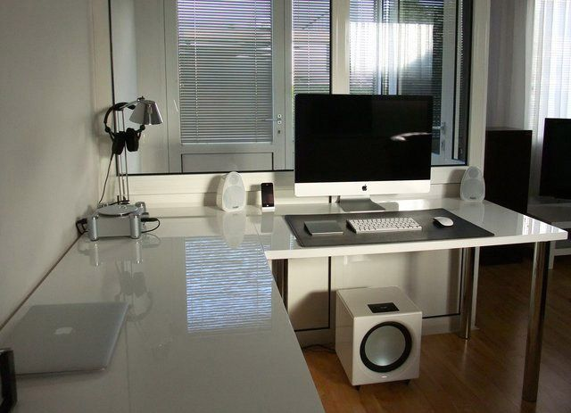 My dream workspace so uncluttered and clean