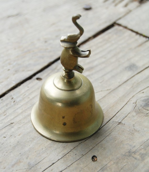 Vintage Brass Elephant Bell for my Sister