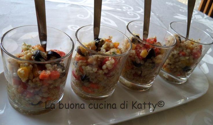 La buona cucina di Katty: Insalata di grano saraceno - Salad with buckwheat