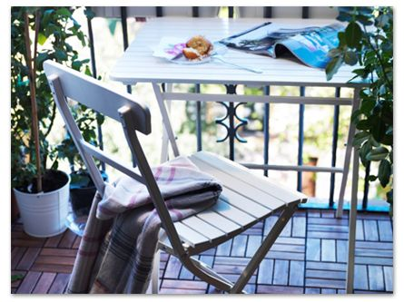 small garden patio balcony ideas get inspired with ikea