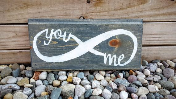 You & Me Infinity Sign Infinity Sign You and Me by JunkyardDaisies
