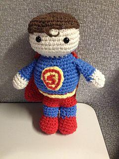 Ravelry: Amigurumi Superman pattern by Dolores Voglesonger