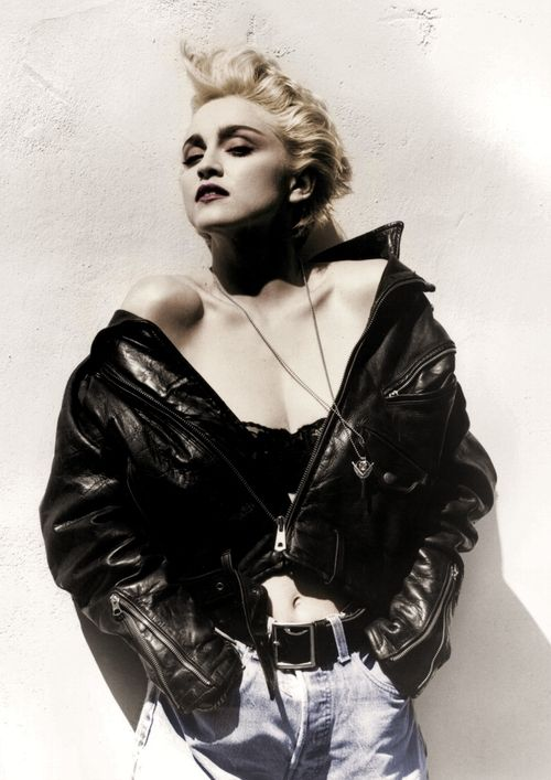 Madonna - 1986 - Photo by Herb Ritts - amazing photographer. super inspirational for make-up and poses.