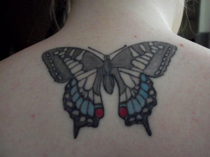 My Swallowtail butterfly tattoo. | Tattoos | Pinterest