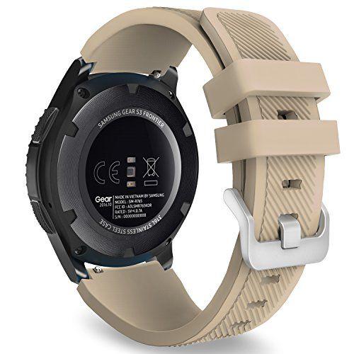 Gear S3 Frontier Classic Watch Band Moko Soft Silicone Https Www Amazon Com Dp B01n0ehzfa Ref Cm Huawei Watch Samsung Gear S3 Frontier Classic Watches