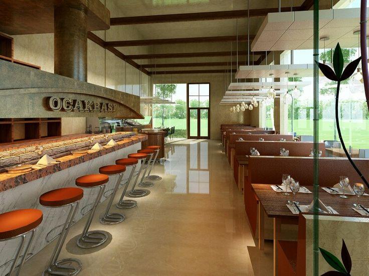 Turkish kebab restaurant design