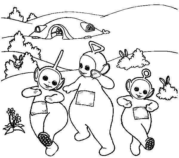 Teletubbies Coloring Book Kids Fun Com: 238 Best Images About ɬєℓєɬυbbιєѕ . On Pinterest